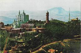 BARCELONA - Vista Aérea Del Tibidabo - Vue Aérienne - Barcelona