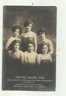 Portugal - Teatro Salao Foz -A Photographia Brazil ( 2 Scans) - Lisboa