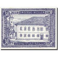 Billet, Autriche, Goldwörth, 30 Heller, Taverne, SPL, Mehl:FS 248b - Autriche