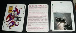 Rare Jeu De 56 Cartes, 2 Jeux En 1 Le Rami Et Des 13 Familles, Appareils KODAK Films, Les Règles D'or De La Photo, Joker - Jeux De Société