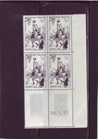 N° 1072 - 30F BASKET BALL - 4° Tirage Du 9.1 Au 22.1.57 - 10.01.1957 - - Coins Datés