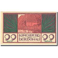 Billet, Autriche, Kirchberg An Der Donau, 99 Heller, Château, SPL, Mehl:FS 441b - Autriche