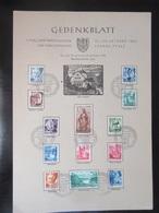 Gedenkblatt Landau Pfalz 1947 - Französische Zone