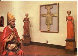 MONTALCINO (Siena) - Museo Diocesano -  Sculture Lignee (sec. XII) E Cristo Bizantino - Italia