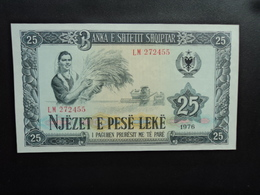 ALBANIE : 25 LEKE  1976   P 44a     NEUF - Albania
