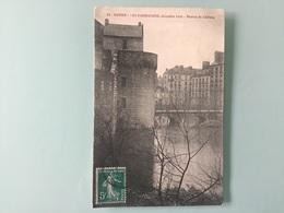 Nantes - LES INONDATIONS, Décembre 1910 - Douves Du Château - Nantes