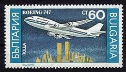 Boeing 747 (Avion) - Bulgarie - 1990 - Bulgarie