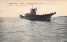 Zeebrugge Ruines - Embouteillement Du Port. Ruins - Obstruction Of The Harbour. - Guerre 1914-18