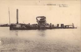 """Zeebrugge. -  Le """"Thétis"""". - Guerre 1914-18"""