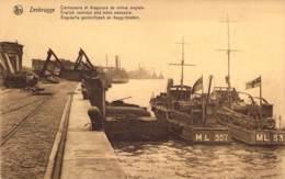 Zeebrugge. - Convoyeurs Et Dragueurs De Mines Anglais. English Convoys And Mine Sweepers. Engelsche Geleischepen. - Guerre 1914-18