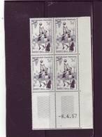 N° 1072 - 30F BASKET BALL - 6° Tirage Du 23.3.57 Au 15.4.57 - 8.04.1957 - - Coins Datés