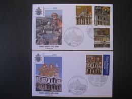 Vatican- FDC Anno Santo Del 2000 Le Basiliche - FDC