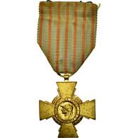 France, Croix Du Combattant, Médaille, 1914-1918, Good Quality, Bronze, 37 - Militari