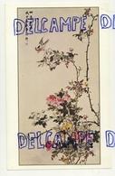 Reproduction D'Art Contemporain Chinois. Shao Yu-Hsüan. Pivoines Et Oiseaux - Vieux Papiers