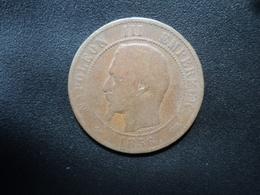 FRANCE : 10 CENTIMES   1856 D   F.133 / KM 777.2     TB / TB - * - D. 10 Céntimos
