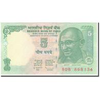 Billet, Inde, 5 Rupees, KM:88Ad, NEUF - Inde
