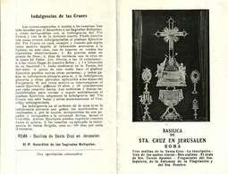 Image Pieuse  Ou Religieuse -     BASILICA DE STA. CRUZ EN JERUSALEN  ROMA - Images Religieuses