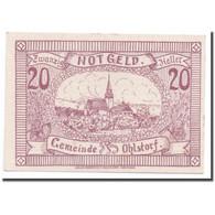 Billet, Autriche, Ohlstorf, 20 Heller, Eglise, 1920, 1920-06-01, SPL, Mehl:708f - Autriche