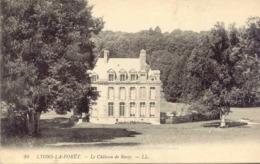 CPA - LYONS-LA-FORET - LE CHATEAU DE ROSAY (ECRITE EN 1913) - Lyons-la-Forêt