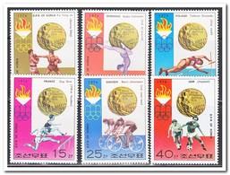 Noord Korea 1976, Postfris MNH, Olympic Summer Games - Korea (Noord)