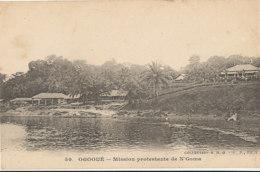 AN 81   / C P A    AFRIQUE-  GABON - OGOOUE  MISSION PROTESTANTE DE N'GOMA - Gabon