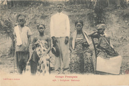 AN 93   / C P A     AFRIQUE-  CONGO FRANCAIS - INDIGENES GABONAIS - Congo Français - Autres