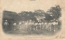 AN 100   / C P A     ASIE -    TONKIN  VIET NAM -   TIRAILLEURS  TONKINOIS  A LA BOXE - Vietnam