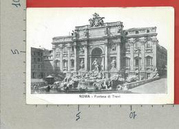CARTOLINA NV ITALIA - ROMA - Fontana Di Trevi - 9 X 14 - Fontana Di Trevi
