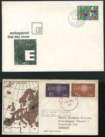 1960 Europa C.E.P.T. , L'annata Completa Di F.D.C. - 1960
