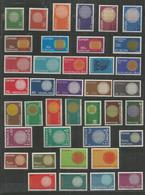 39 Stamps DIFFERENT - MNH - Europa-CEPT - Art - 1970 - Europa-CEPT