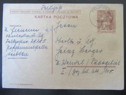 Feldpost Beutekarte Polen September 1939 - Besetzungen 1938-45