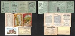 VARIE - DOCUMENTI - 1898 - Superga - Libretto Illustrato Della Funicolare Con Descrizione E Orari Dell'attrazione - Comp - Non Classificati