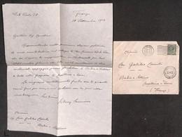 VARIE - DOCUMENTI - Sidney Sonnino - Lettera Manoscritta Autografata 12.11.13 - Non Classificati