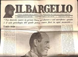 VARIE - DOCUMENTI - Il Bargello - Intero Giornale Della Federazione Fiorentina Dei Fasci Di Combattimento - 21.3.39 - Non Classificati