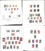 LOTTI E COLLEZIONI - Regno - 1863/1945 - Collezione Avanzata Di Valori Prevalentemente Usati Più Buste E Cartoline Del P - Non Classificati