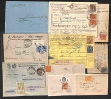 LOTTI E COLLEZIONI - Regno - 1882/1928 - Lotto Di 10 Oggetti Postali Del Periodo - Merita Esame - Non Classificati