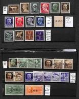 LOTTI E COLLEZIONI - RSI - 1944 - Piccolo Insieme Su 2 Cartoncini Della Tiratura Di Verona - Merita Esame - Valore Di Ca - Non Classificati