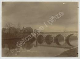 Saint-Jean-sur-Mayenne . Eglise Et Pont . Citrate 1900-10 . - Places