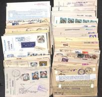 LOTTI E COLLEZIONI - Repubblica - 1958/2000 - Oltre 60 Cartoline Elettorali Affrancate Del Periodo Per L'estero - Da Esa - Non Classificati
