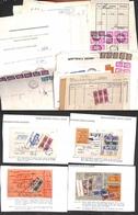 LOTTI E COLLEZIONI - Repubblica - 1960/1977 - Insieme Di Oltre 70 Oggetti Postali (bollettini Pacchi - Buste - Documenti - Non Classificati
