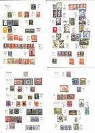 LOTTI E COLLEZIONI - Americhe - 1870/1960 - Piccola Collezione Di Valori Usati Di Oltre 16 Paesi Diversi Delle Americhe  - Non Classificati