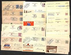 LOTTI E COLLEZIONI - Belgio - 1940/1972 - Insieme Di 60 Cartoline Postali Pubblicitarie E Viaggiate Nel Periodo - Da Esa - Non Classificati