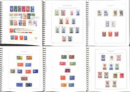 LOTTI E COLLEZIONI - Europa Cept - 1953/1975 - Collezione Di Valori E Serie Complete Del Periodo In Album E Fogli Marini - Non Classificati