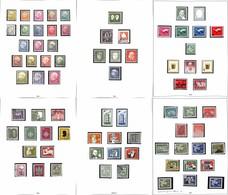 LOTTI E COLLEZIONI - Germania - 1949/1976 - Collezione Di Valori Usati Del Periodo Montata Su Album Safe - Valore Di Cat - Non Classificati