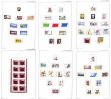 LOTTI E COLLEZIONI - Germania - 1980/1999 - Collezione Completa Di Valori Del Periodo Usati In Elegante Album Importa -  - Non Classificati