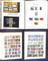 LOTTI E COLLEZIONI - Gran Bretagna - 1842/1892 - Collezione Di Valori Nuovi E Usati Del Periodo In Un Album Artigianale  - Non Classificati