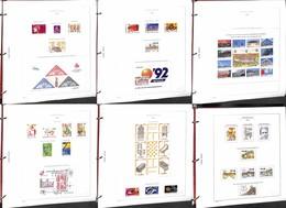 LOTTI E COLLEZIONI - Spagna - 1976/1992 - Collezione Di Valori /serie Complete/libretti E Foglietti Del Periodo In Fogli - Non Classificati