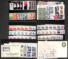LOTTI E COLLEZIONI - Stati Uniti - Oltre 170 Esemplari Nuovi Singoli E In Serie Più Alcuni Foglietti E Una Busta Postale - Non Classificati