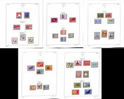 LOTTI E COLLEZIONI - Svizzera - 1974/1991 - Collezione Di Valori Del Periodo Nuovi E Usati In Album Euralbo - Valore Di  - Non Classificati