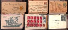 LOTTI E COLLEZIONI - Mondiale - Storia Postale - 1891/1954 - Album Contenente 26 Buste E Cartoline Di Diversi Paesi - In - Non Classificati